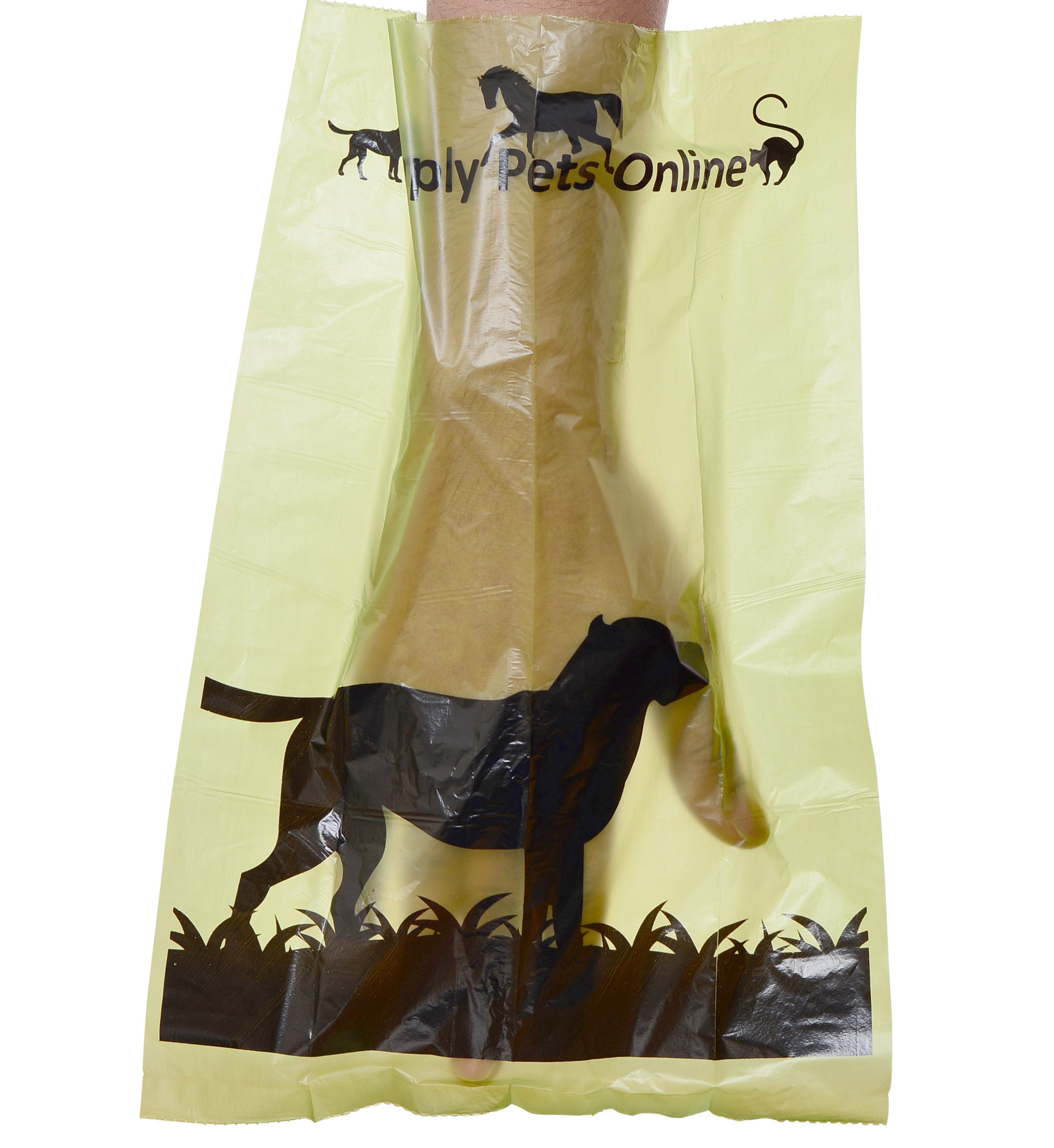 New Biodegradable dog poo bags
