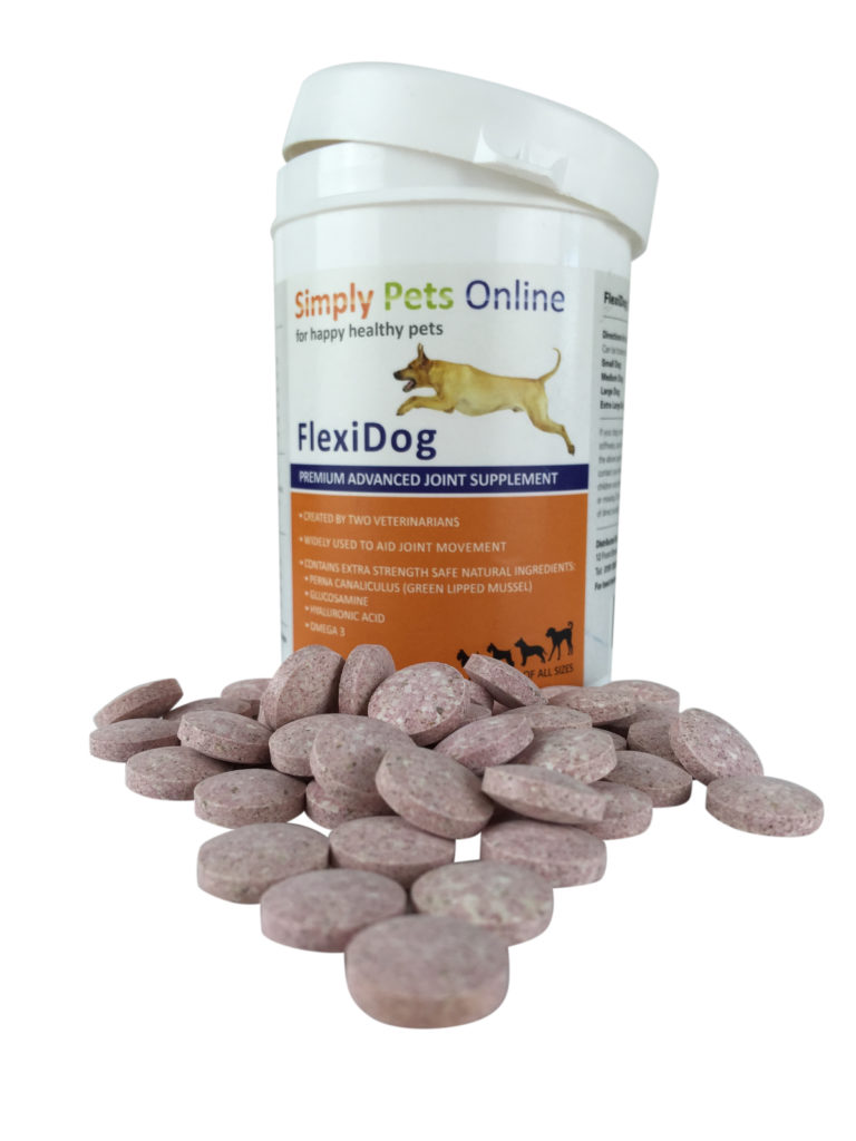 Uniqutre dog supplement, with green lipped mussel